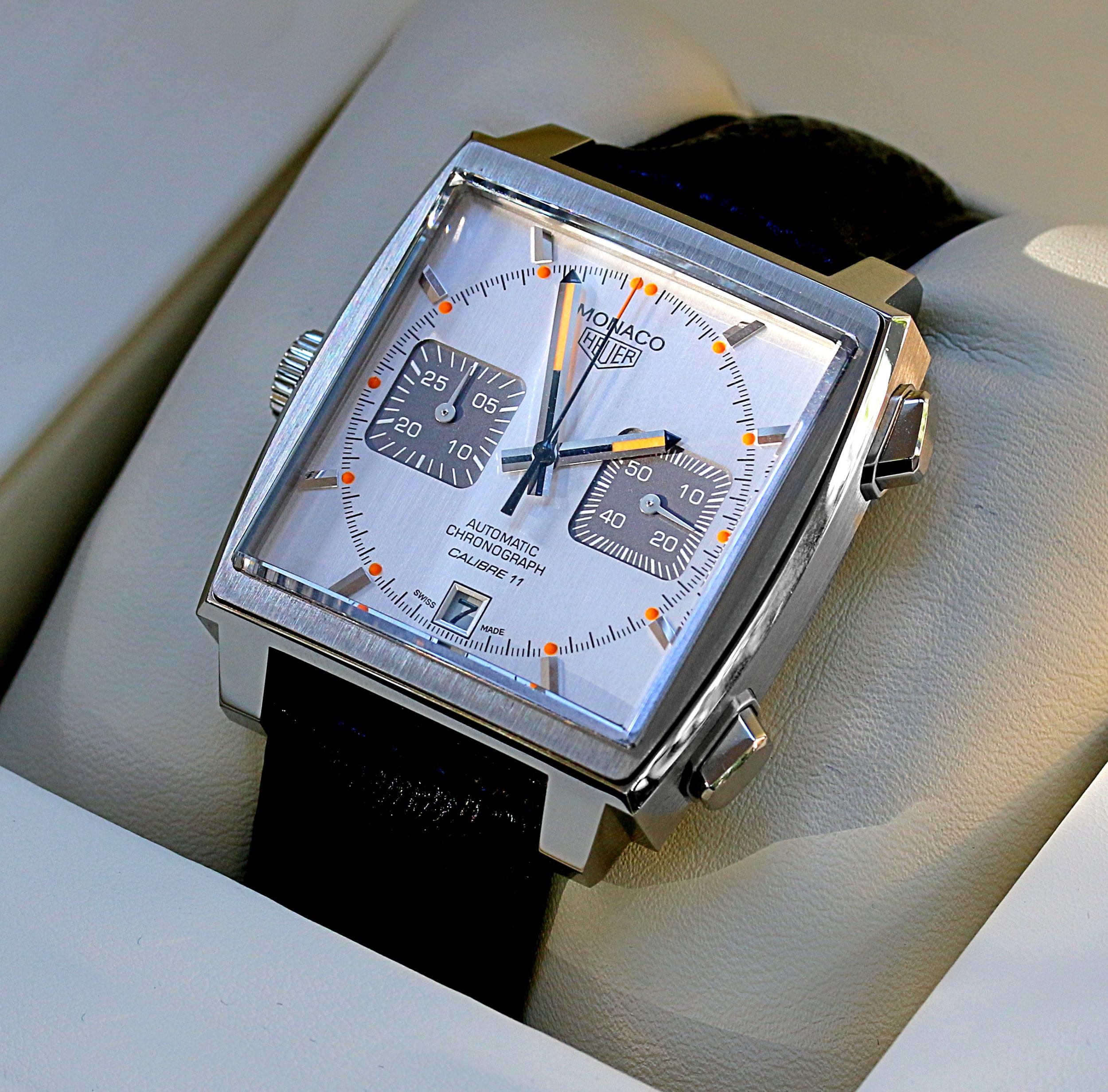 TAG Heuer Monaco Calibre 11 - NEU!! Box + Papier | eBay