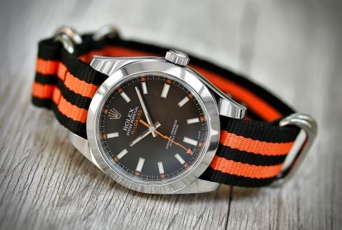 Rolex Milgauss schwarz 4