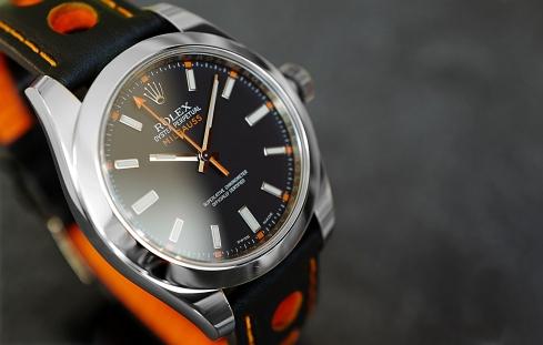 Rolex Milgauss schwarz 6