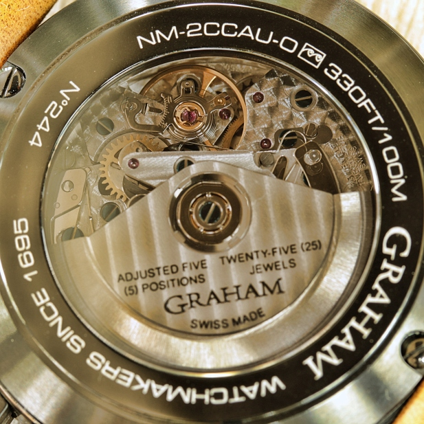 Graham Chronofighter Sahara 5