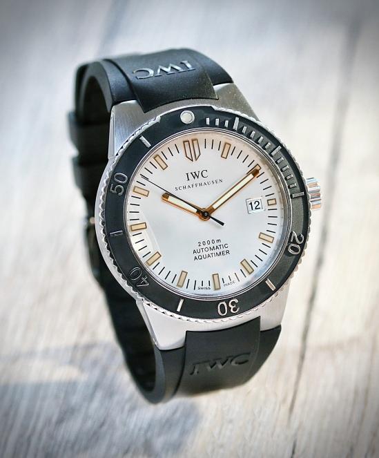 IWC Aquatimer 2000 GST silber 4