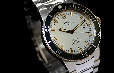 IWC Aquatimer 2000 GST silber 5