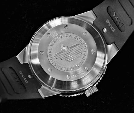 IWC Aquatimer 2000 GST silber 7