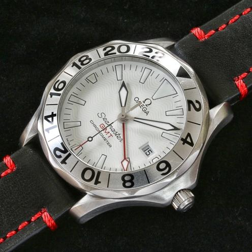 Omega seamaster GMT white 3JPG