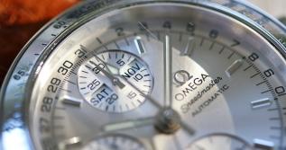 Omega Speedmaster Auto silber 5