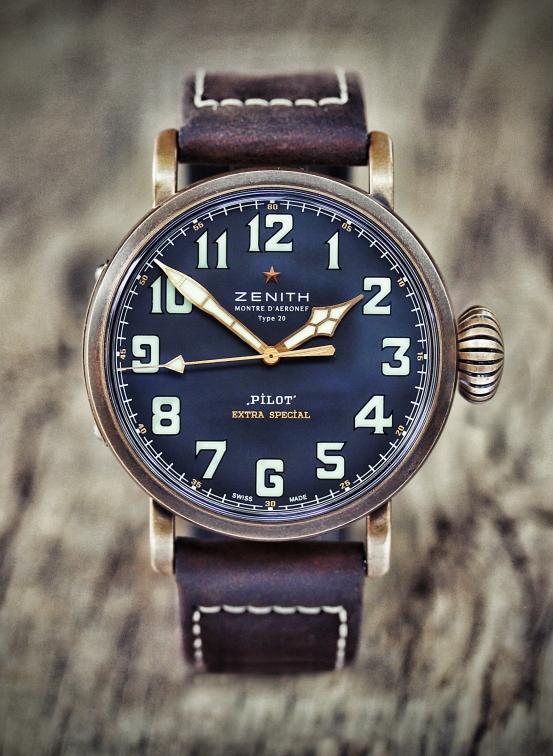 zenith Pilot bronze 2