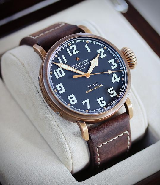 zenith Pilot bronze 8