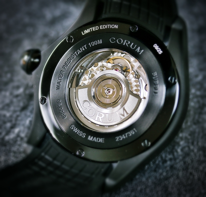 Corum Bubble Carbon 6