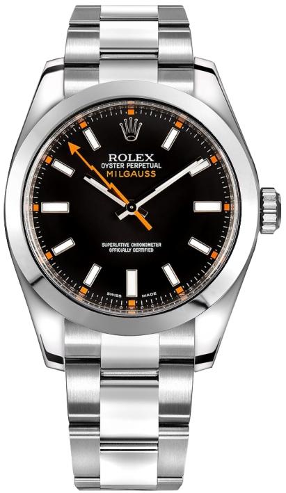 Rolex Milgauss schwarz 10