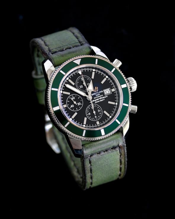 Breitling Superocean Heritage 46 green 1