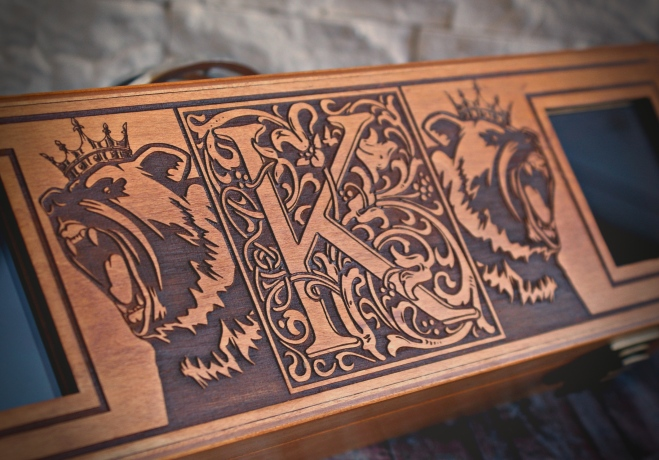 4er Box Initialen 7