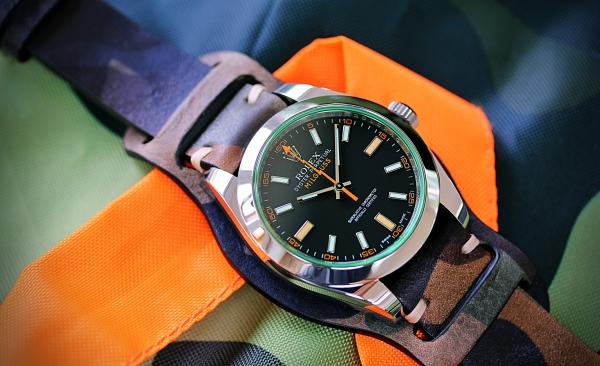 Rolex Milgauss schwarz 22