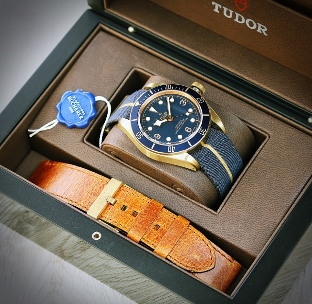 Tudor Black Bay Bucherer 8