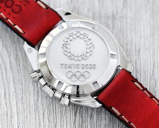 Omega Speedmaster Tokyo 2020 red 5