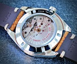 Omega Seamaster Aqua Terra blau 5