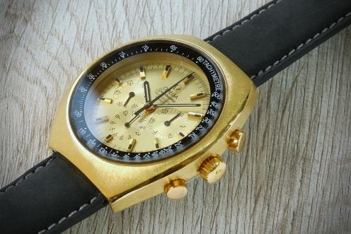 Omega Speedmaster Mark II gold 6