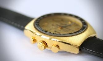 Omega Speedmaster Mark II gold 7