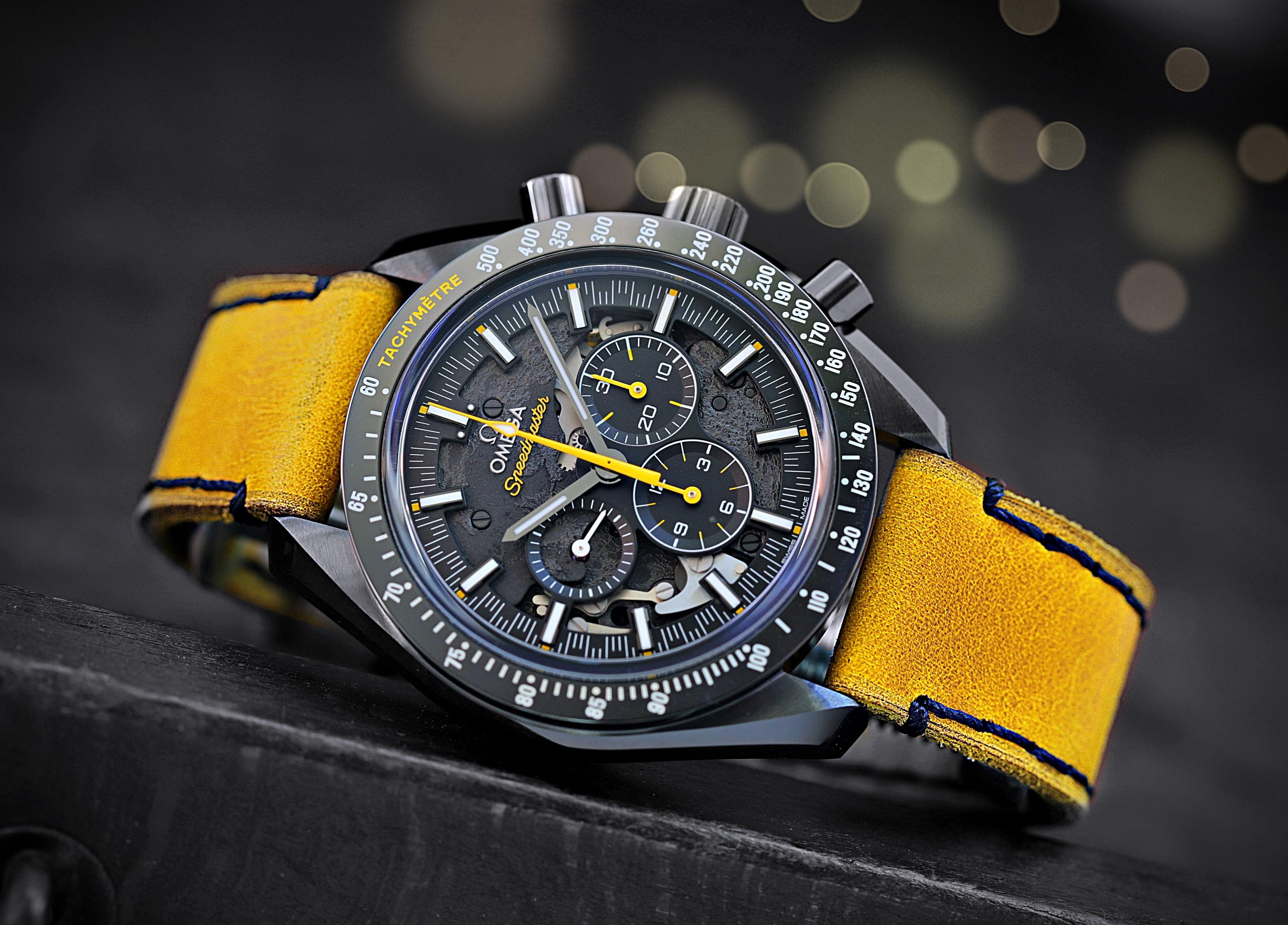Omega Speedmaster DSotM yellow 1JPG